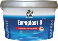 Матовая латексная краска Dufa Expert Europlast 3 2,5л - для стен и потолка (моющаяся)