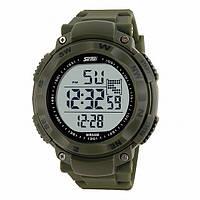 Часы водонепроницаемые спортивные Skmei Army Green 1024AG