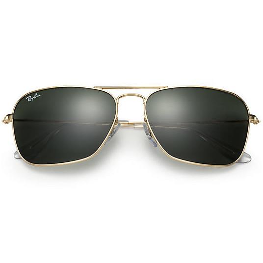 Очки Ray Ban RB 3136 Caravan Gold стекло комплект dea671e709aa9