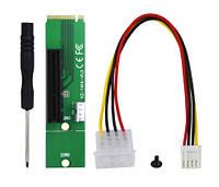 Переходник адаптер Riser PCI-E 4X NGFF M.2