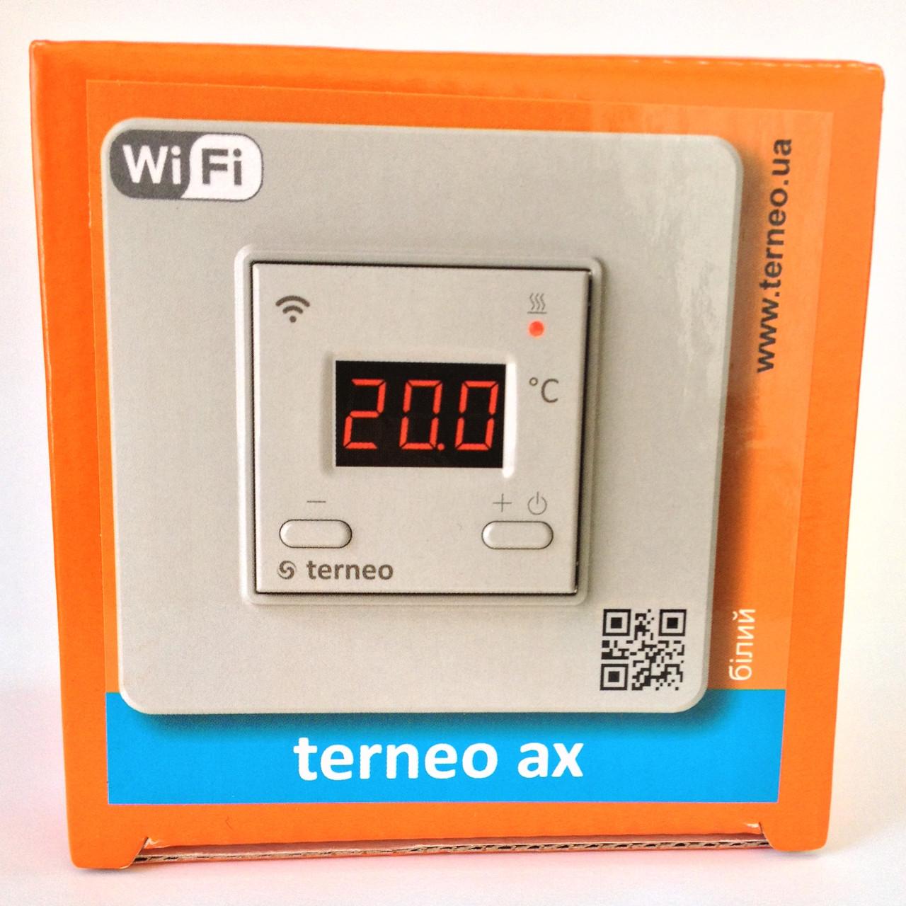 Wi-Fi терморегулятор terneo ax - ЭКО ТЕПЛИЦА в Киеве