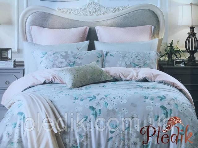 Двуспальное евро постельное белье Бамбук