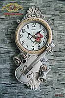 """Часы настенные """"Тихая Скрипка""""."""