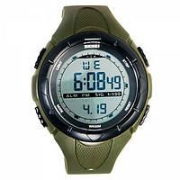 Часы водонепроницаемые спортивные Skmei Army Green 1025AG