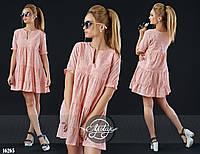 Женское платье (42 44 46 48 50) — прошва купить оптом и в Розницу в одессе  7км