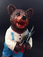 Садовая фигура Медведь садовник