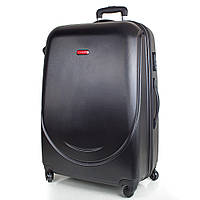 Большой дорожный чемодан gravitt ds310l-2 черный на 4-х колесах