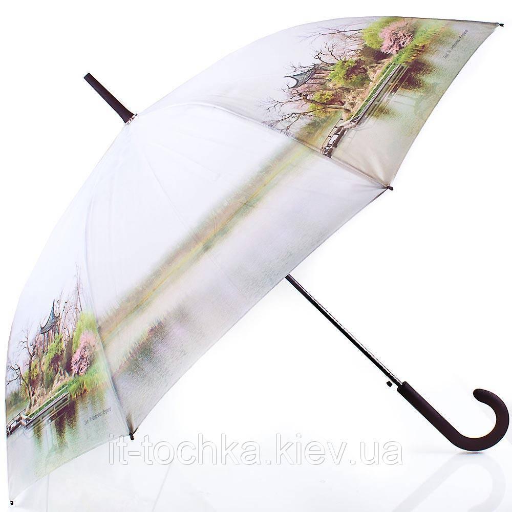 Зонт-трость женский  полуавтомат zest z21625-14