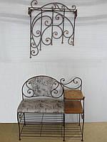 Кованый набор мебели в прихожую  -  36, фото 1