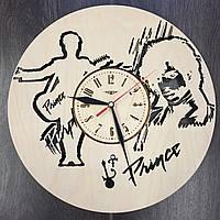 Часы ручной работы настенные «Принс»