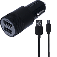 АЗУ Asus 2USB 2in1 (АЗУ 3.1A + MicroUSB Cable) Black original