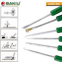 Комплект Baku BK-120 с 6-ти инструментов для пайки элементов