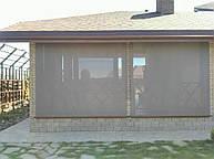 Наружные рулонные шторы Рефлексол ХХЛ, открытого типа