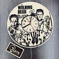 Настенные часы с оригинальным дизайном «Ходячие мертвецы »