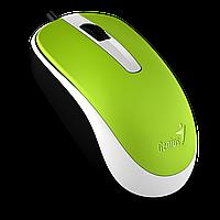 Проводная мышь Genius DX-120 USB Green