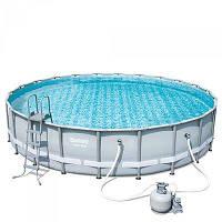 Каркасный бассейн BESTWAY 56641, 427х107 см