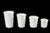 Бумажные стаканы для горячих напитков с двойными стенками/Без печати