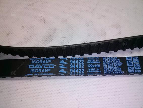Ремень ГРМ зубчатый на ВАЗ 2104, 2105, 2107 DAYCO, фото 2