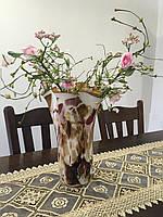 Ваза для цветов и интерьера ручной работы