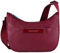 Наплечная надежная женская сумка с чехлом для iPad mini Piquadro AKI/Red, BD3291AK_R красный