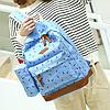 Школьный рюкзак 2 в 1 с рисунком жирафа, фото 3