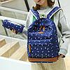 Школьный рюкзак 2 в 1 с рисунком жирафа, фото 4