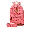 Школьный рюкзак 2 в 1 с рисунком жирафа, фото 2