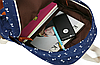 Школьный рюкзак 2 в 1 с рисунком жирафа, фото 10