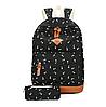 Школьный рюкзак 2 в 1 с рисунком жирафа, фото 7