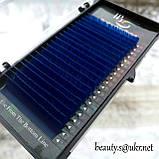 Ресницы I-Beauty(20 лент),синие,микс С-0,07 8-14мм, фото 3