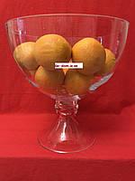 Ваза для фруктов (фруктовница) стеклянная 320мм