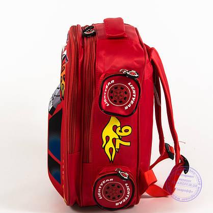 Школьный рюкзак для мальчика 3D машина - красная - 126, фото 3