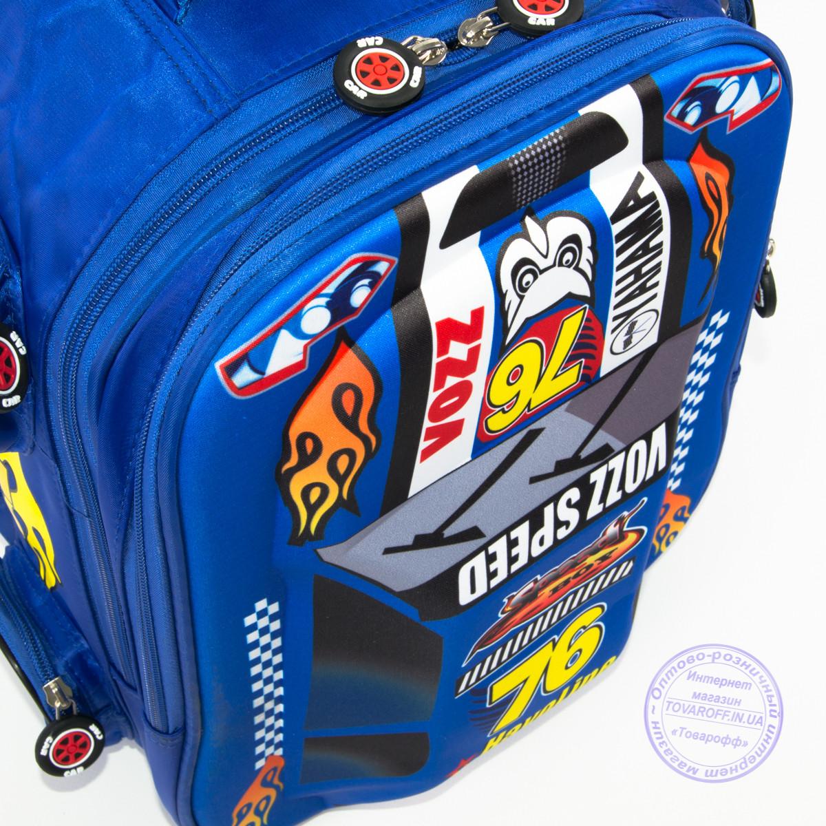 14c834e81ce3 Школьный рюкзак для мальчика 3D машина - синий - 126: заказ, цены в ...