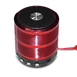 Колонка Bluetooth WS-887 Red