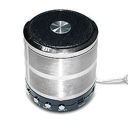 Колонки Bluetooth WS-887 Silver