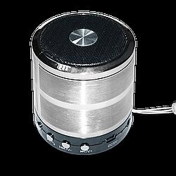 Колонка Bluetooth WS-887 Silver