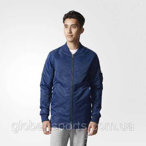 Мужская куртка-бомбер Adidas Neo ELNG (Артикул:BQ0578)