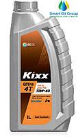 Моторное масло для четырехтактных двигателей KIXX Ultra 4T Scooter 10W-40 1л