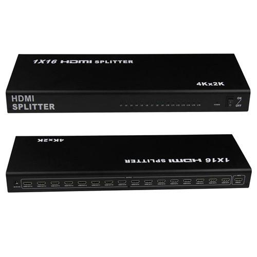 HDMI 1x16 портов 4K сплиттер, разветвитель, коммутатор