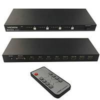 Разветвитель сигнала HDMI, матрица 4х4 сплиттер, коммутатор