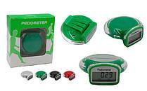 Крокомір електронний з кліпсой C-4900 (пластик, 3 в 1 калорії, кількість кроків, відстань)