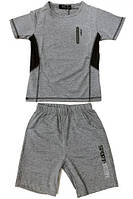 Спортивный костюм мальчиковый для закрытого зала, тенниса, летний. Возраст 3-12 лет.