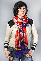 Женский шарф большой весна-осень цветной яркий   Lafeny