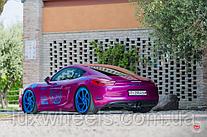 Porsche Cayman на дисках Vossen LC-108T