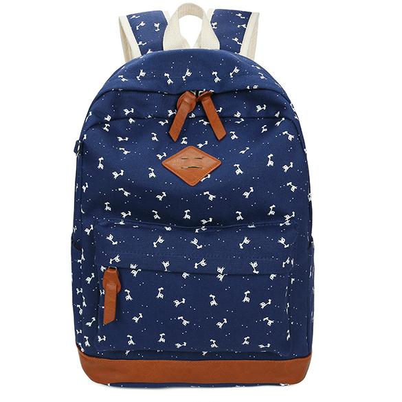 Модный рюкзак для школы с пеналом