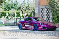 Porsche Cayman на дисках Vossen LC-109T