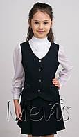 Школьная форма для девочки (юбка+жилетка)1970-01