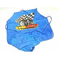 Детский фартук с нарукавниками Авто DSCN1155-2-1311