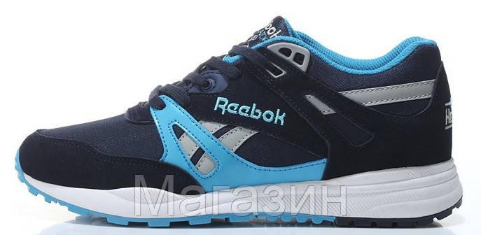 Мужские кроссовки Reebok Ventilator Рибок Вентилятор в стиле синие