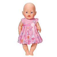 822111 R Одежда для кукол Baby Born - Розовое платье ZAPF CREATION